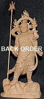 Click here for details. Large Statue of Bishamonten (aka Tamonten)