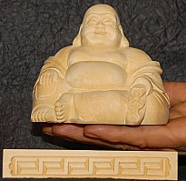 Hotei, The Laughing Buddha, the Fat Buddha, One of Japan's Seven Lucky Gods