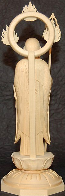back view of Jizo Bosatsu