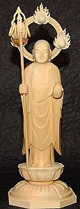 Jizo - Japanese Cypress Wood