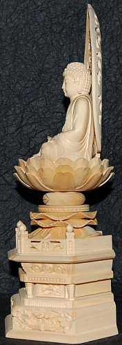 Shaka Buddha, Side View