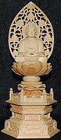 Big Shaka Statue - Wood, Historical Buddha