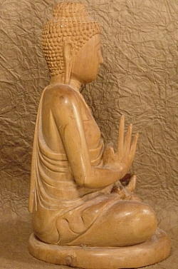 Tathagata from Thailand, Wooden, Hand Carved